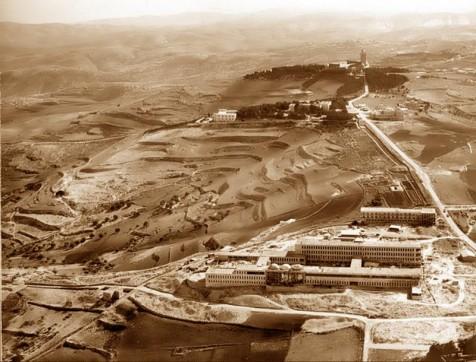הר הצופים בשנות ה-40