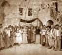 חתונה בחצר החורבה במאה ה-19