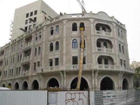 מלון פאלאס, נבנה מחדש