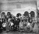 משפחת סלומון. (באדיבות מוזיאון חצר הישוב הישן)