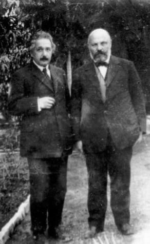 אוסישקין ואינשטיין 1923