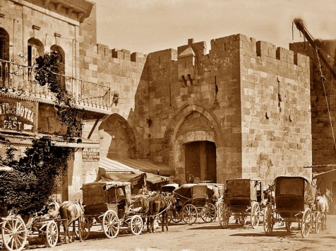 Diligance_in_Jaffa_gate