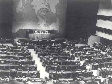 """ההצבעה בכ""""ט נובמבר באו""""ם"""